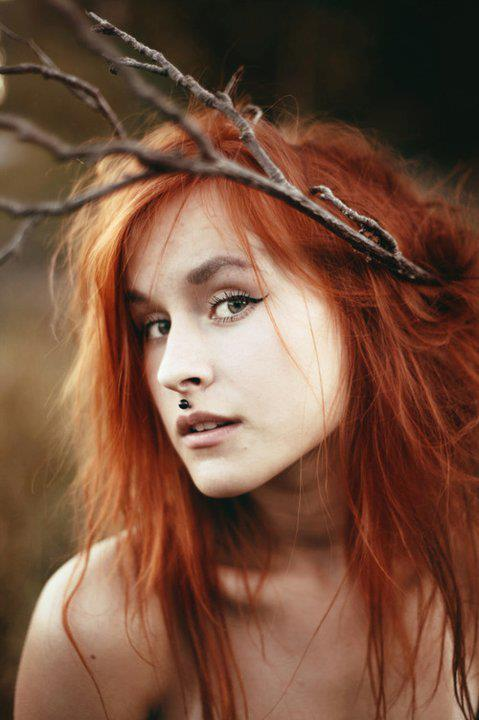 amazing, colours, eyes, ginger, girl