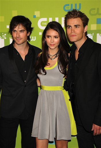 amazing, cute, elena, glamour, hot, ian somerhalder, nina dobrev, paul wesley, perfect, salvatore, sexy, the vampire diaries