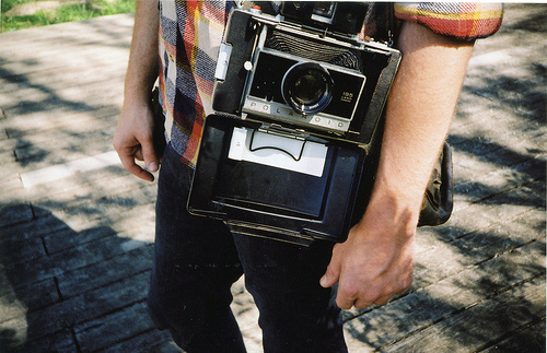 analog, boy, camera, cute, grain, grian, hipster, indie, old, polaroid
