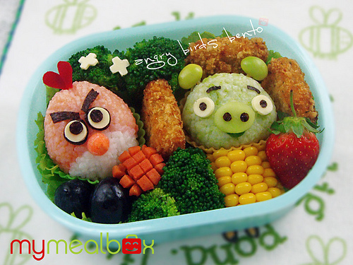 angry, awesome, birds, fruit, sushi