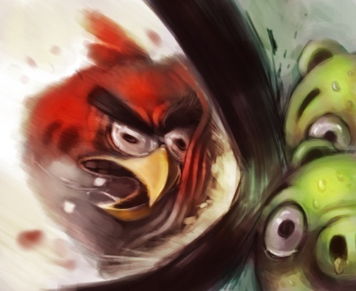 angry birds, comic, desenho, game, illustration