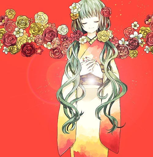 anime, anime girl, awesome, cute, flowers