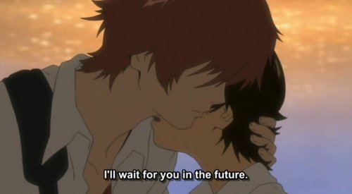 anime, chiaki mamiya, kakeru shoujo, love, makoto konno, the girl who leapt through time, toki wo kakeru shoujo