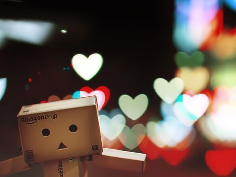 art, box, cube, cute, danbo, heart, photography, sweet