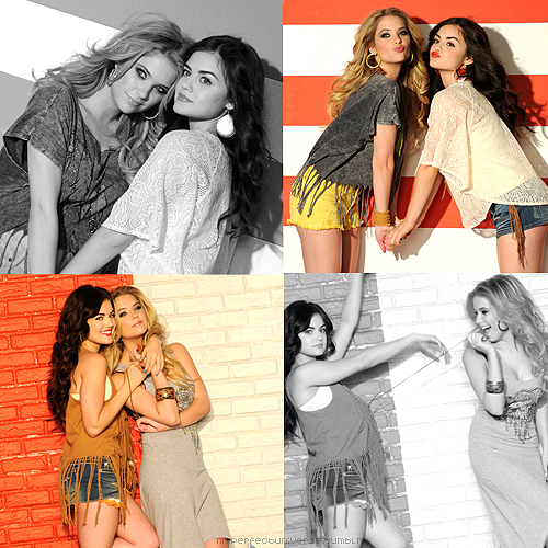 ashley benson, beautiful, girls , lucy hale
