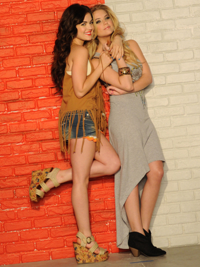 ashley benson, gorgeous, lucy hale