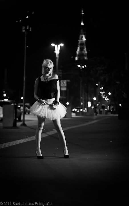 av paulista, beautiful, black and white, blond girl, brazil