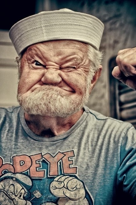 awesome, man, photography, popeye