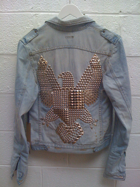baby blue, back, balmain, bird, denim