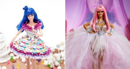 barbie, famous, girl, katty perry, nicki minaj