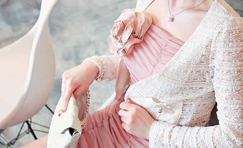 beautiful, beauty, girl, jewelry, pink, pretty, rose, white