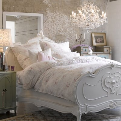beautiful, bed, bedroom, white