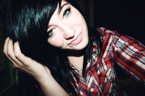 beautiful, black hair, cute, cute girl, girl