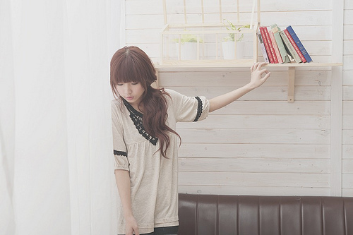 beautiful, books, fashion, girl, kfashion