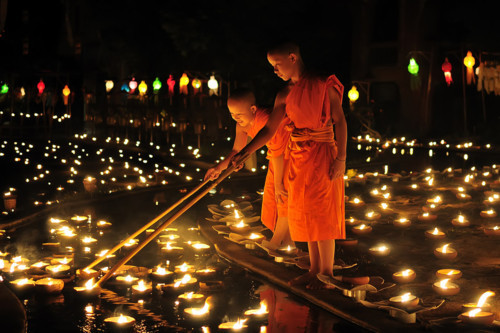 beautiful, candles, children, lanterns, lighting