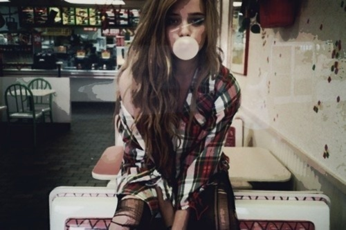 beautiful, cute, flannel, girl, plaid, shirt