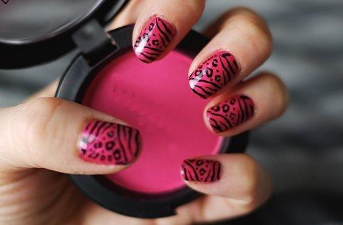 beautiful, cute, girl, makeup, pink, sweet, unhas