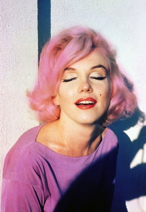 beautiful, girl, marylin monroe, pink, pretty