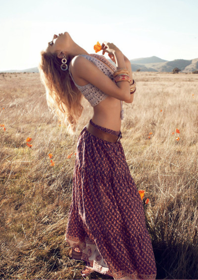 beauty, braccelets, earings, flowers, folk, freedom, happiness, inspire, models, natural, nature, skinny