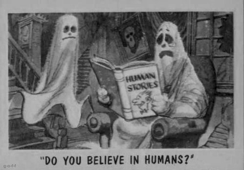 believe, black and white, ghost, humans, lol