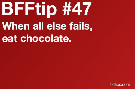 bfftips, chocolate, fails