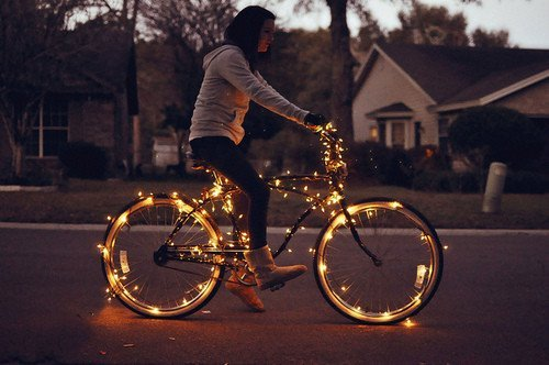bike, fashion, girl
