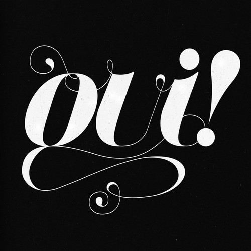 black and white, design, friends of type, graphic design, matt owens, oui, syrupy, typography