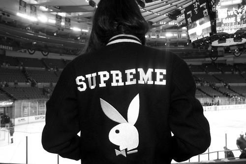 black and white, girl, hockey, photography, playboy