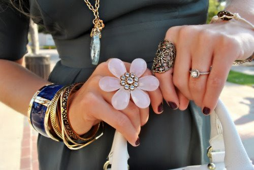 bling, bow, fashion, gold, hand