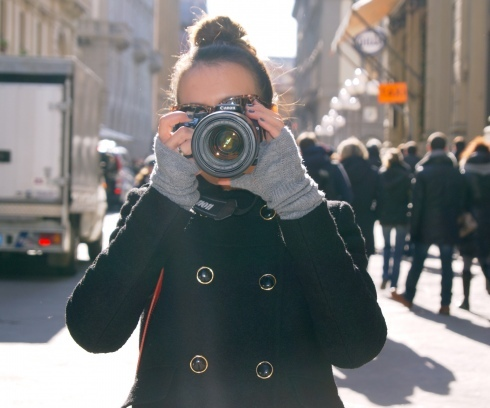 blogger, camera, canon, fashion, photography, street style