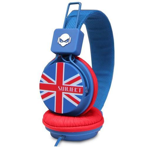 blue, brit, british, england, fashion, flag, grunge, head, headphone, headphones, la brit, phone, red, style, subjekt, white