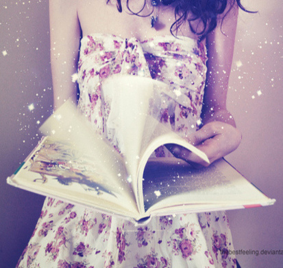 book, fun, girl