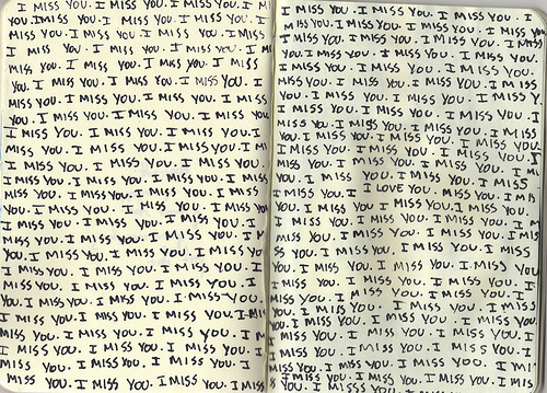 book, hand writing, i miss you, miss you, text