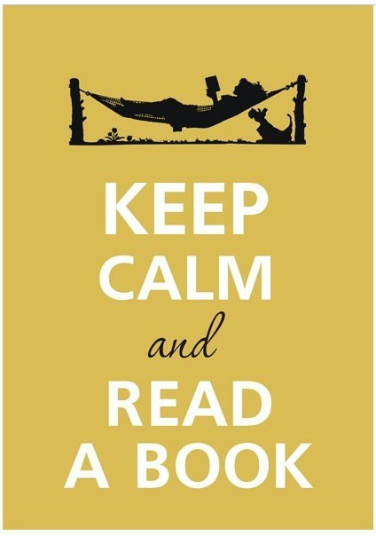 book, keep calm, read