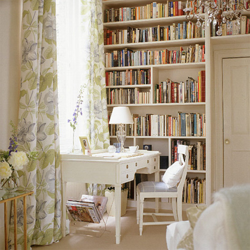 books, interior, room