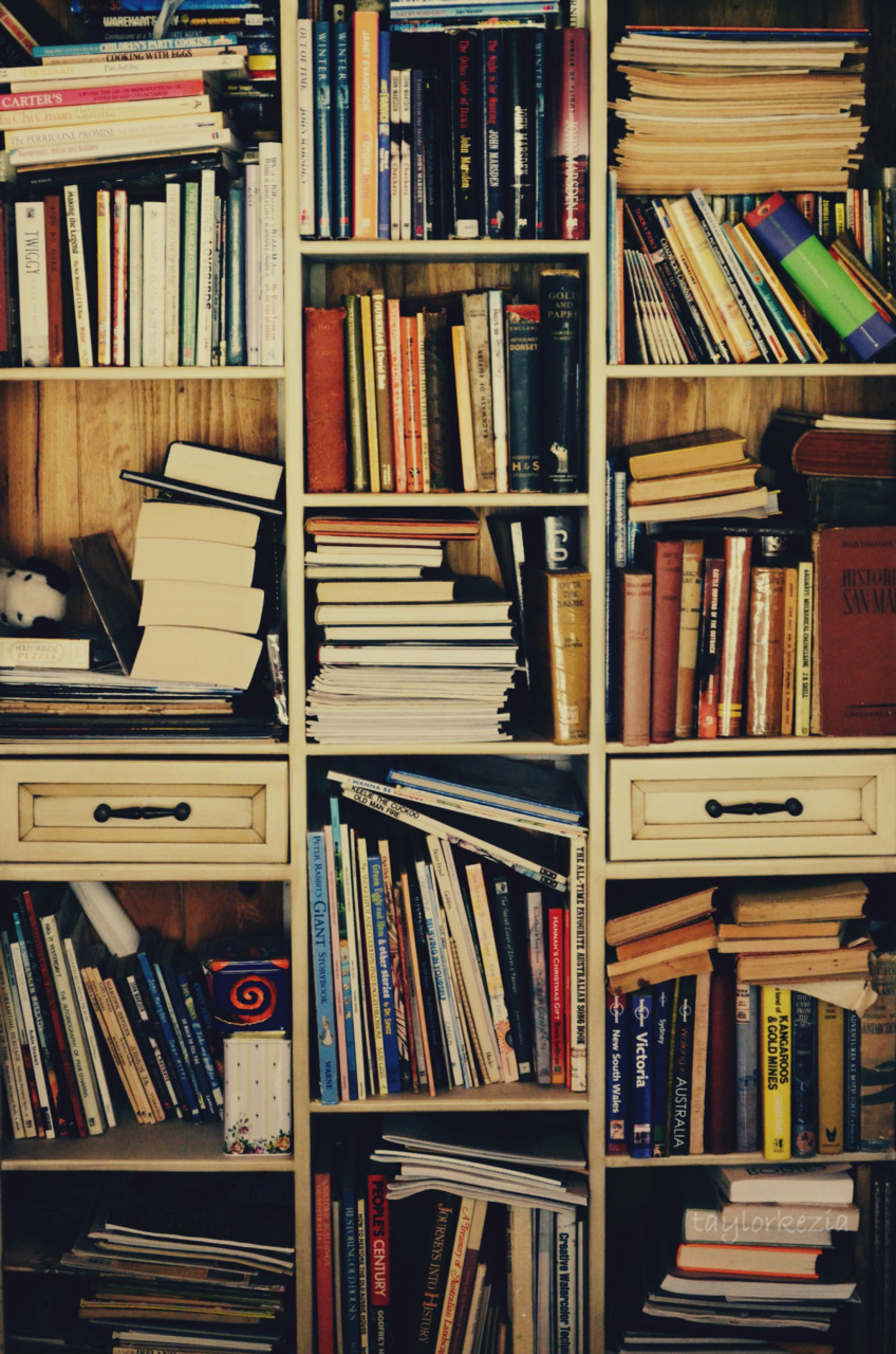 books, library, read, shelf