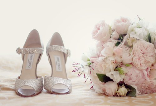 boutique, heels, pastel, pink, roses, white
