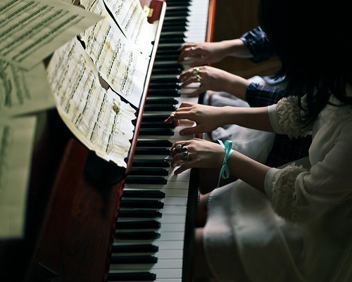 boy, girl, love, piano, song