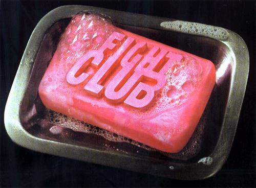 brad pitt, fight club, movie, photography, soap