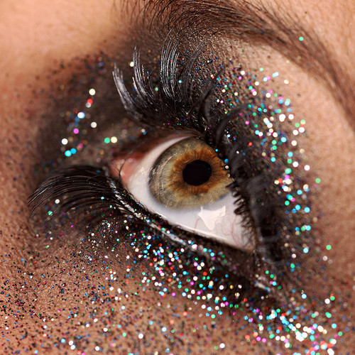 brown, eye, glamour, glitter, gold