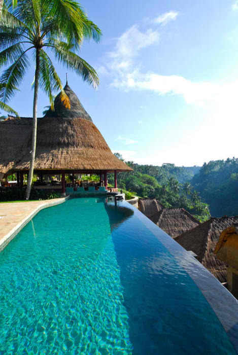bungalow, paradise, photography, pool, resort, swimming pool