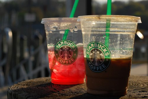candy, coffee, cream, frappucino, fruit