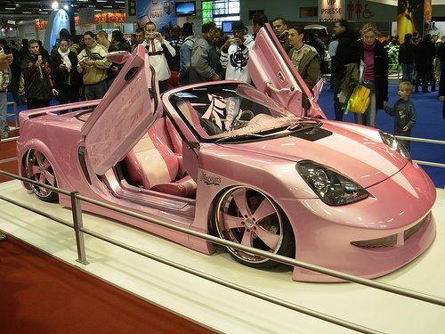 car, cute, girls, luxury, pink