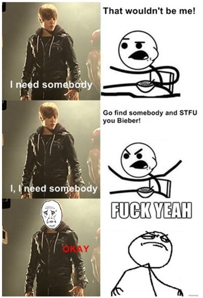 cereal guy, fuck yeah, funny, justin bieber