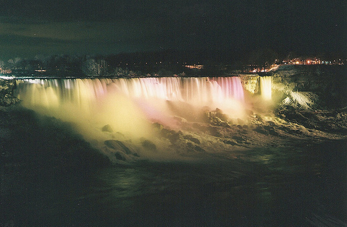 coloful, hipster, landscape, nature, niagara falls