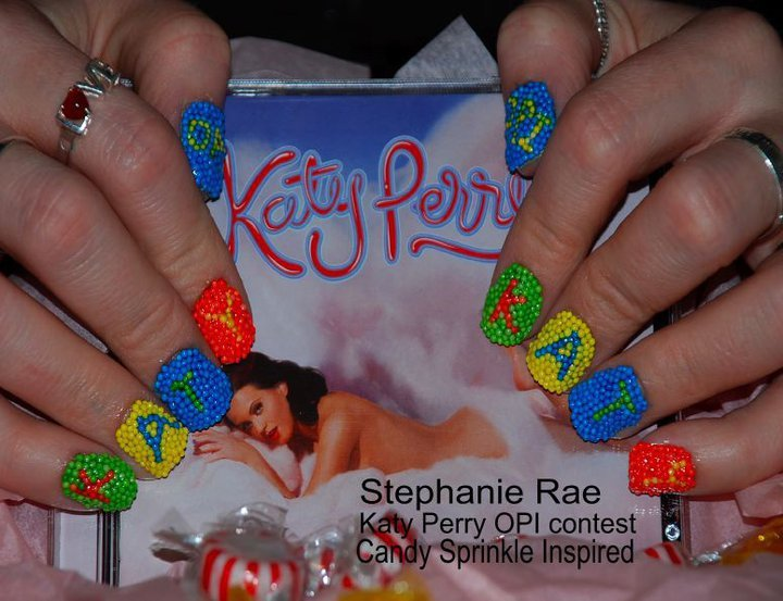 cool, creative, funky, katy perry, katy perry nail contest