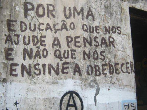 cool, frase, graffiti, obedecer, pensamento