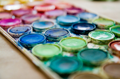 cool, paint, paints, pretty, water, watercolor