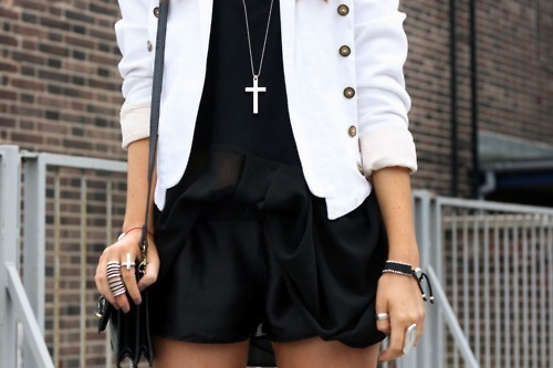 crosses, fashion, style, white
