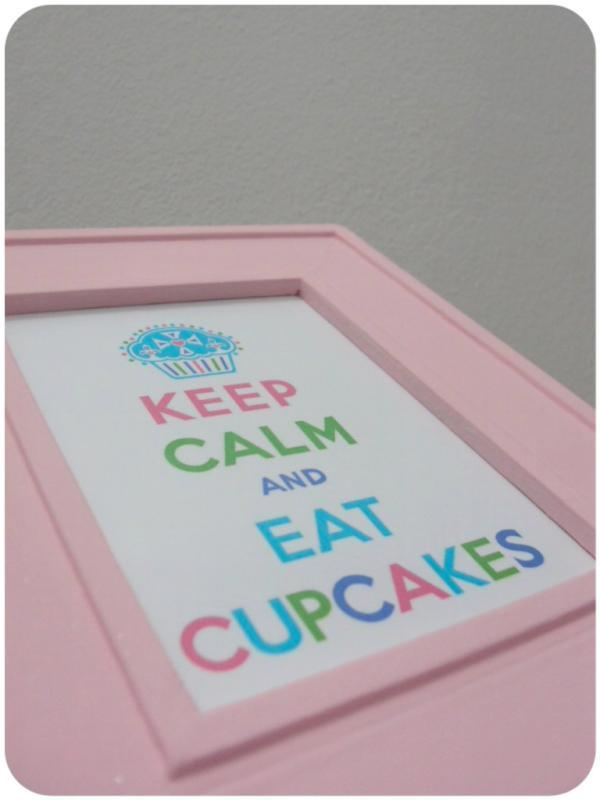 cupcakes, diy, keepcalm